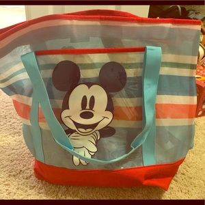 Mickey Mesh Beach Bag